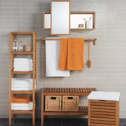 etagere bois ikea salle de bain. Black Bedroom Furniture Sets. Home Design Ideas